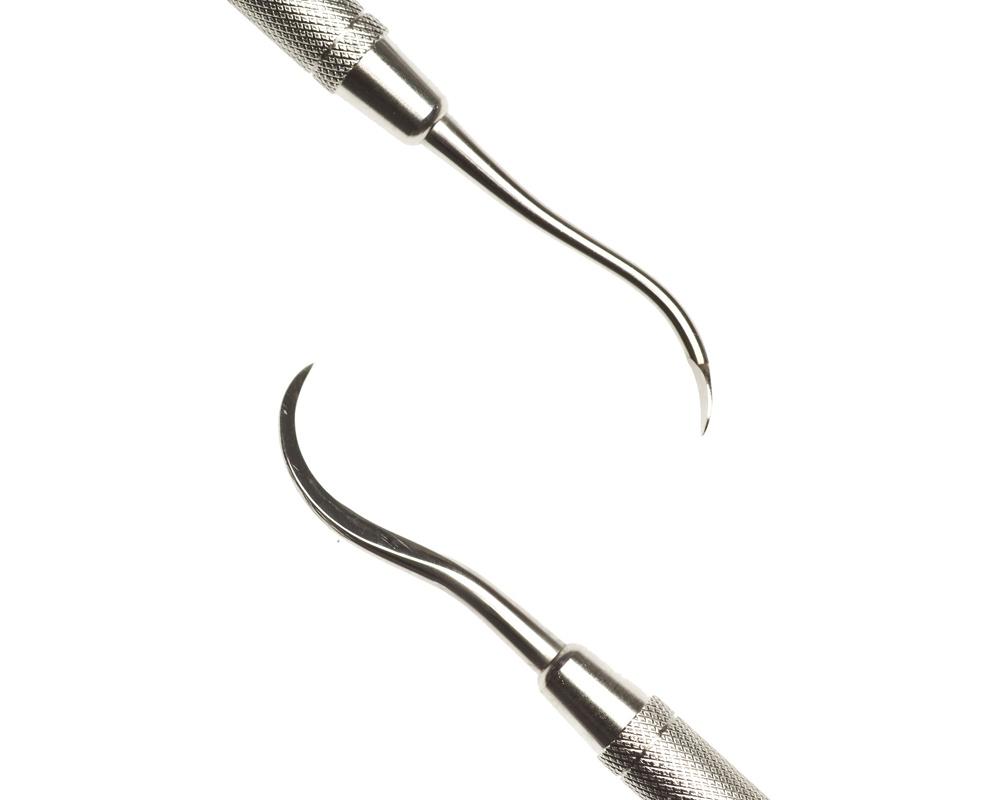 Стоматологический инструмент - Скалер 152 d/e (N1654-H, N1638-O, N1616-R), Nova