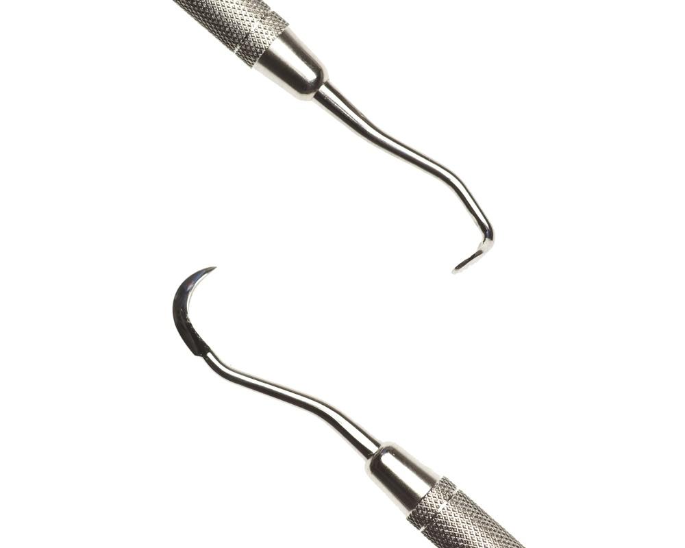 Стоматологический инструмент - Скалер 152A d/e (N1656-H, N1618-R), Nova