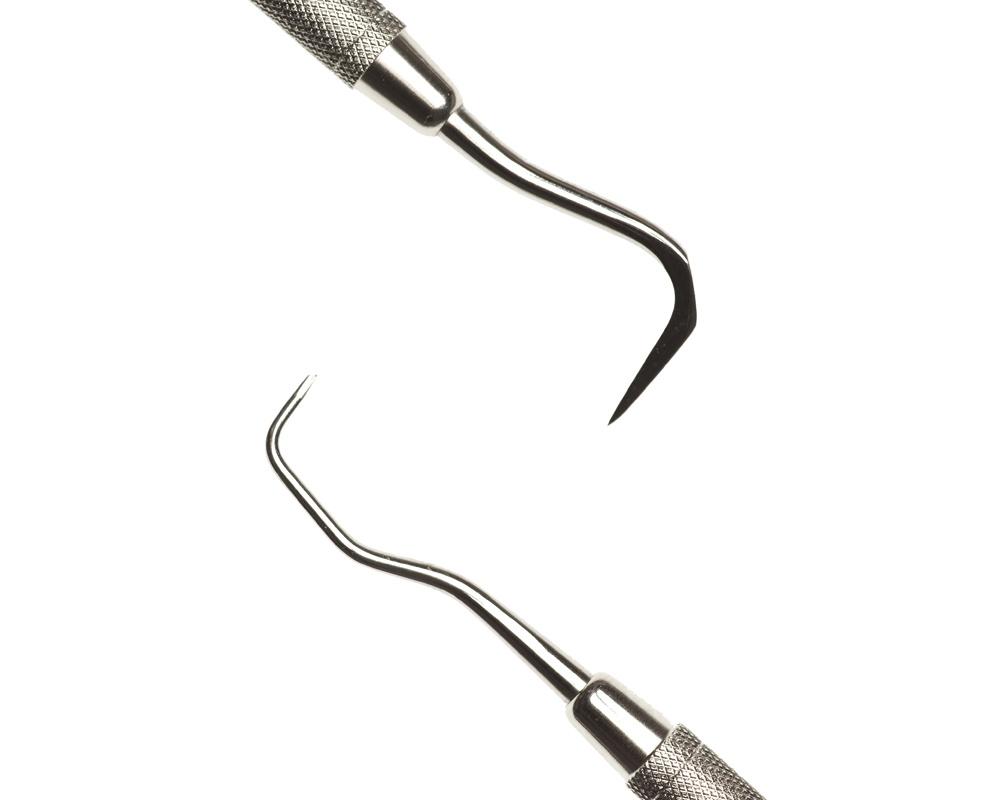 Стоматологический инструмент - Скалер 198 d/e (N1660-H, N1644-O, N1622-R), Nova