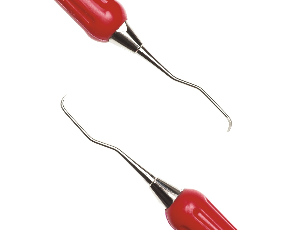 Стоматологический инструмент - Кюрета Mini Gracey 1-2 (N1860-H, N1880-S), Nova