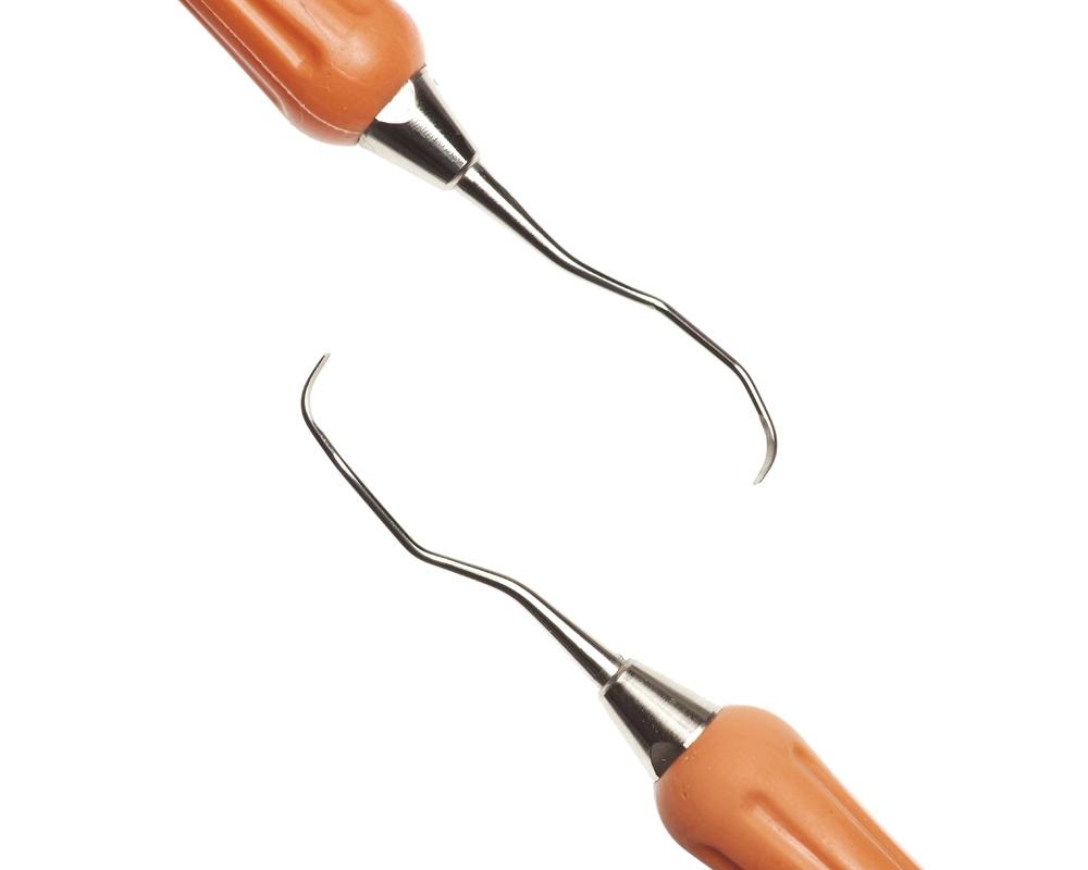 Стоматологический инструмент - Кюрета Langer 1-2 (N0677-H, N0737-S), Nova