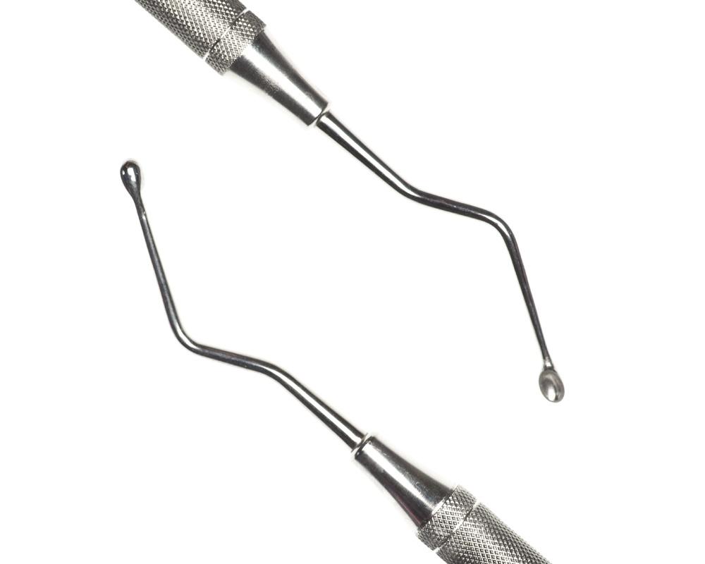 Стоматологический инструмент - Кюрета Hemmingway 2 (N0781-H, N0763-R), Nova