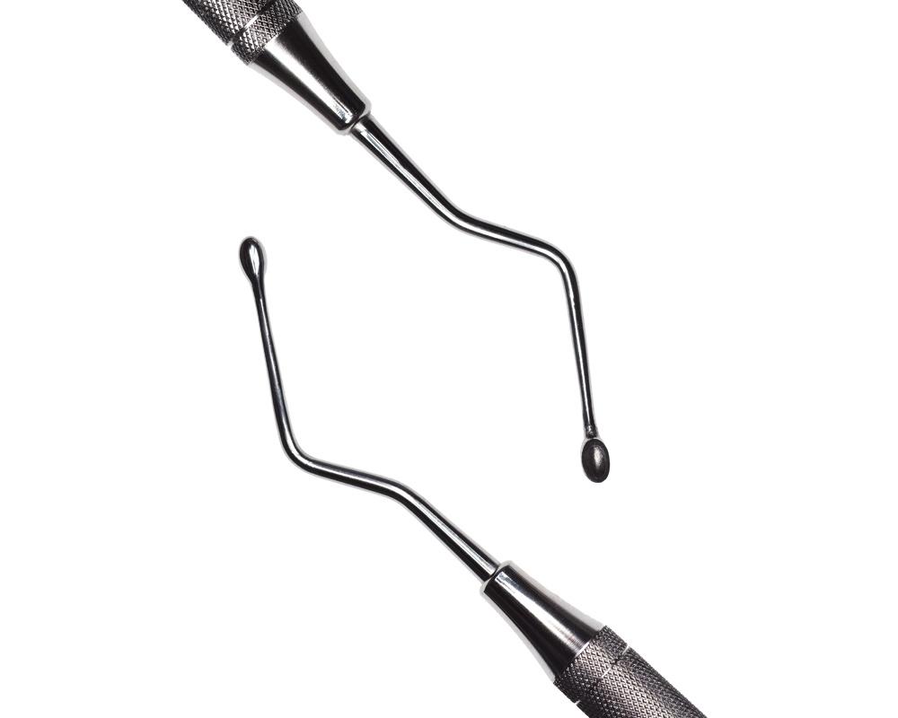 Стоматологический инструмент - Кюрета Hemmingway 3 (N0783-H, N0765-R), Nova