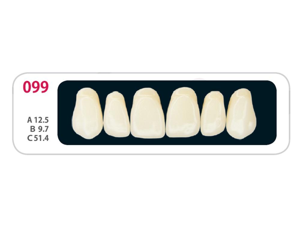 Зубы - Зубы Uniсryl Plus O99