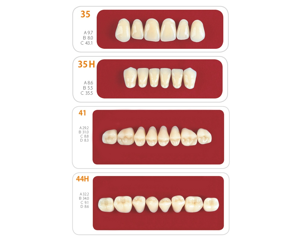 Зубы - Набор зубов 3