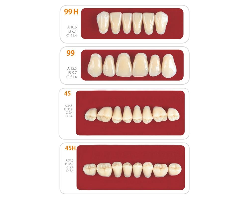 Зубы - Набор зубов 5