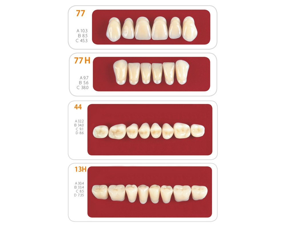 Зубы - Набор зубов 10