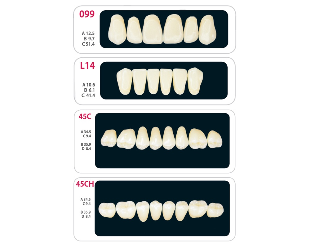 Зубы - Набор зубов 2