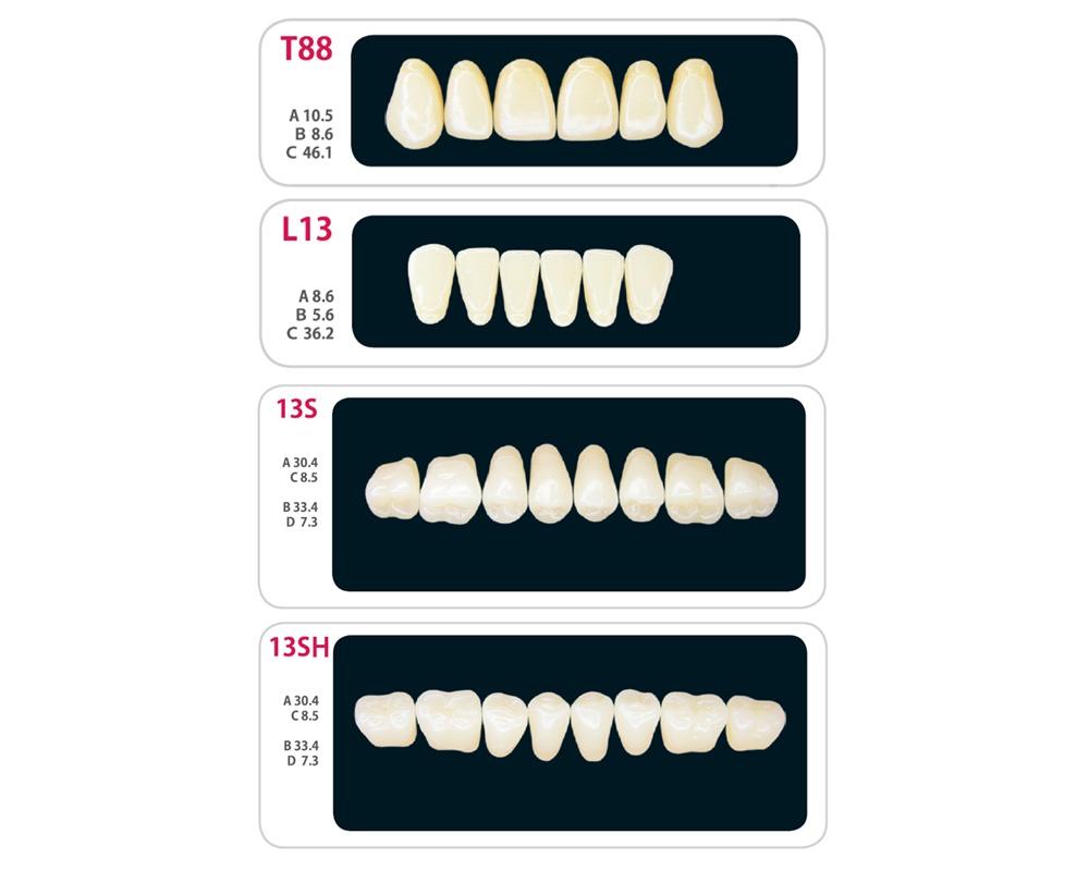 Зубы - Набор зубов 9