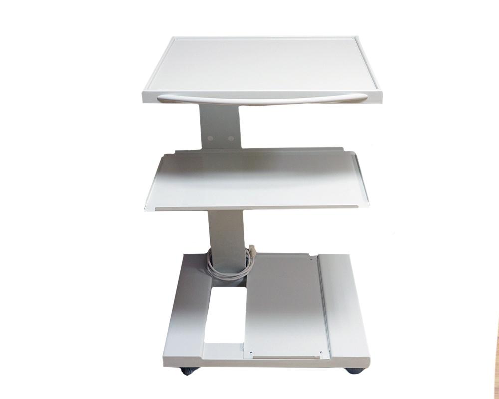 Стоматологическая мебель - Стойка мобильная А-011 -полностью в белом цвете