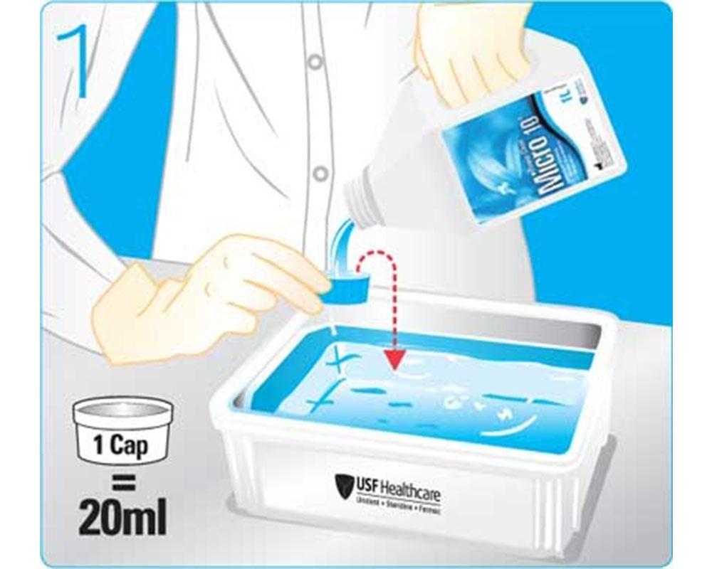 Дезинфекция - Micro 10 Power Clean