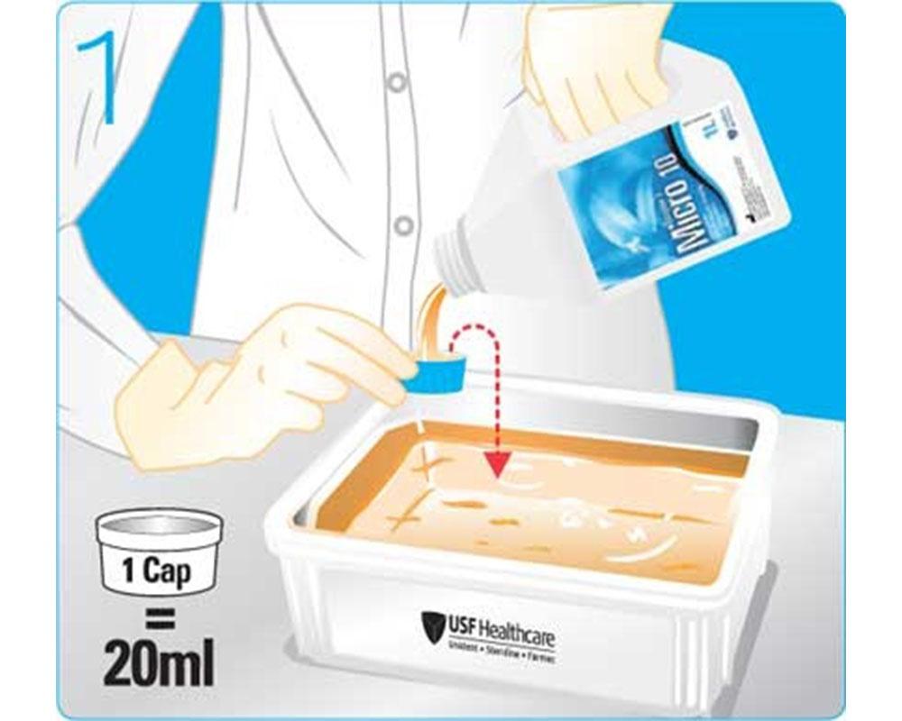 Дезинфекция - Micro 10 Enzyme 2