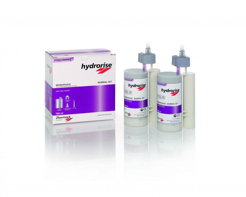 Зуботехнический материал - Hydrorise Maxi Monophase Normal Set (6х380ml)