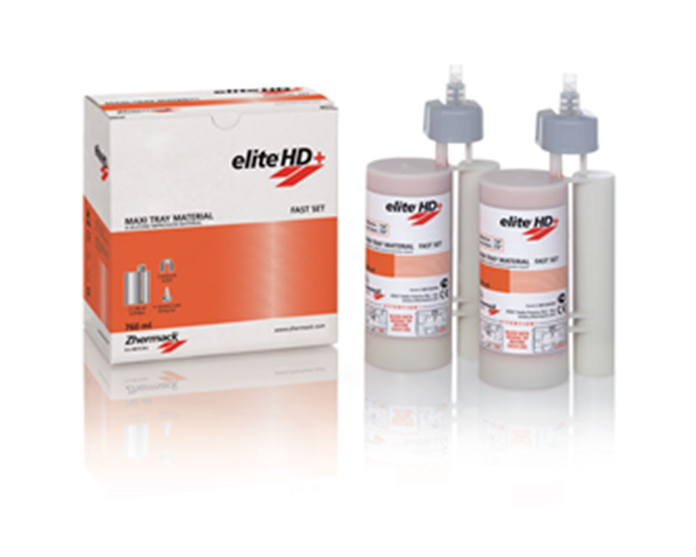 Зуботехнический материал - Elite HD+Maxi Tray Material Fast Set (6х380ml)