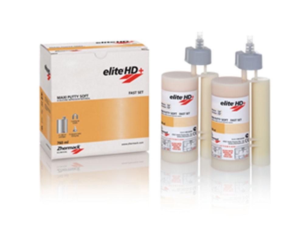 Зуботехнический материал - Elite HD+ Maxi Putty Soft Fast Set (2х380ml)