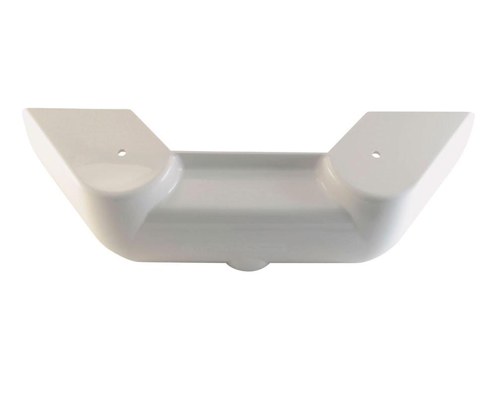 plastik-belyj-na-gidroblok-ustanovki
