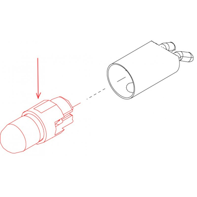 Лампочка для переходника MULTIflex LUX 465 галогеновая