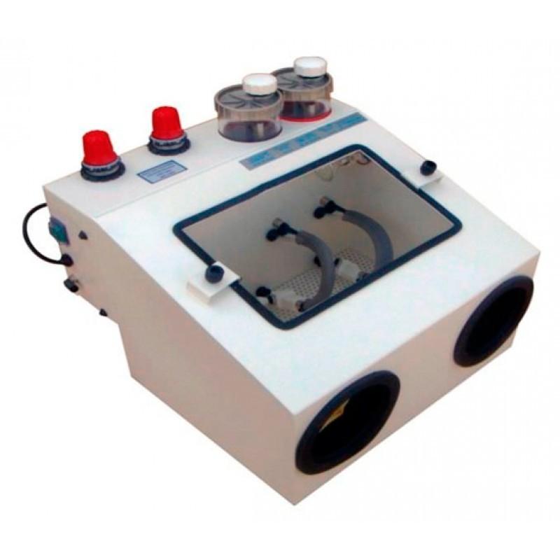 Пескоструйный аппарат на две фракции песка без вытяжного устройства BETA.2.00