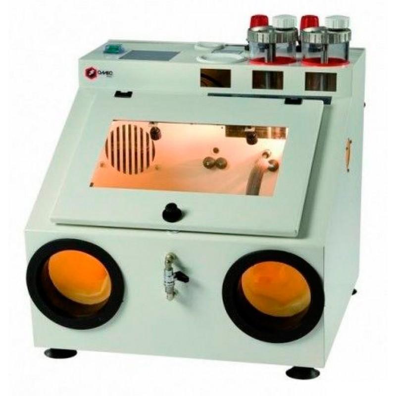 Пескоструйный аппарат на одну фракцию песка с рециркуляцией и с вытяжным устройством MS.1.R.00