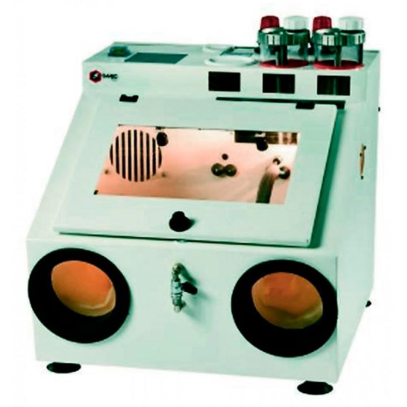 Пескоструйный аппарат на две фракции песка с рециркуляцией и с вытяжным устройством MS.2.R.00