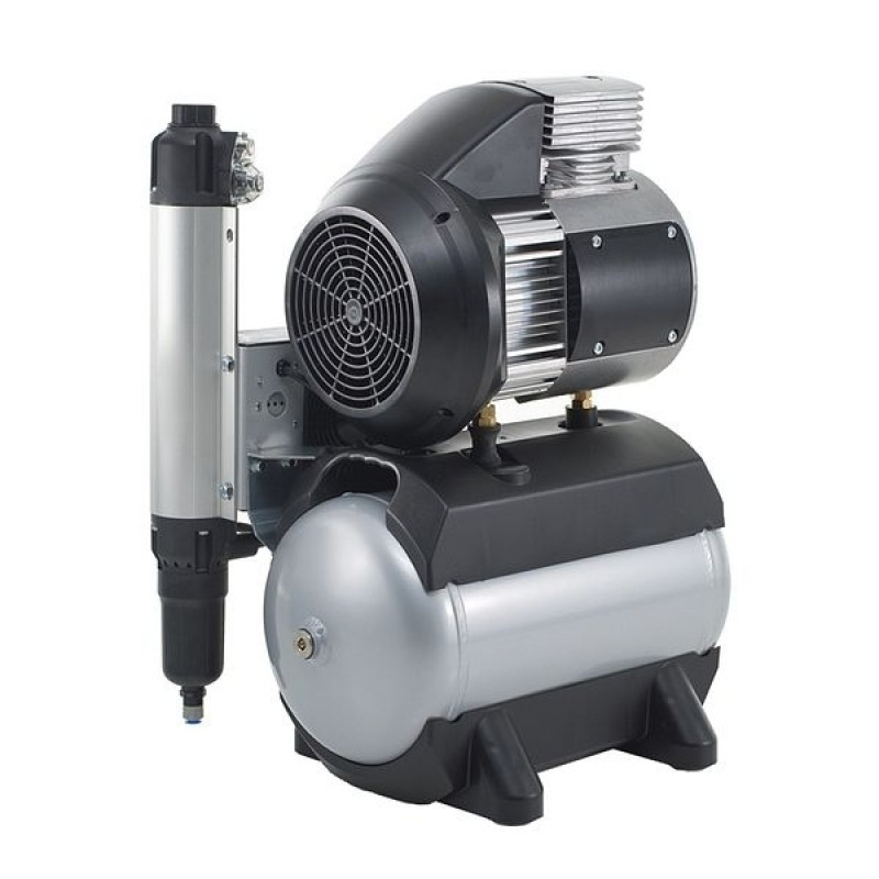 Компрессор безмасляный без осушителя Tornado 2 с шумоподавлением (140 л/мин)