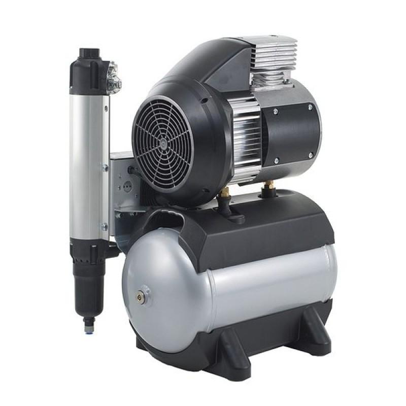 Компрессор безмасляный с осушителем и шумоподавлением Tornado 2 (125 л/мин)