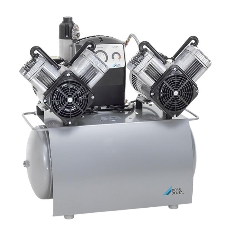 Компрессор безмасляный DUO Tandem (240 л/мин)