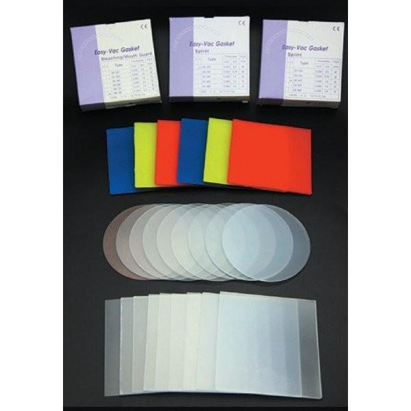 EV Gasket Mouthguard 160 - пластины квадратные, толщина 4,00 мм (6 шт.) цветные