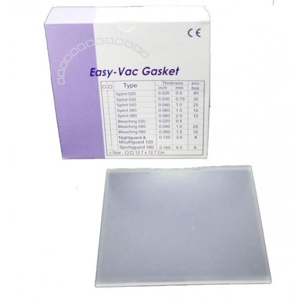 EV Gasket Splint 030 - пластины квадратные, толщина 0,75 мм (30 шт.)