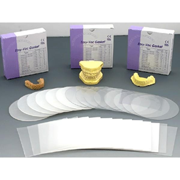 EV Gasket Splint 030 - пластины круглые, толщина 0,75мм (30 шт.)