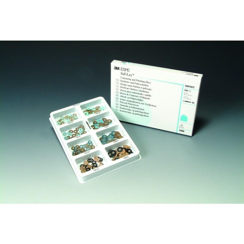 Диски Sof-Lex для шлифования и полирования (ознакомительный набор)