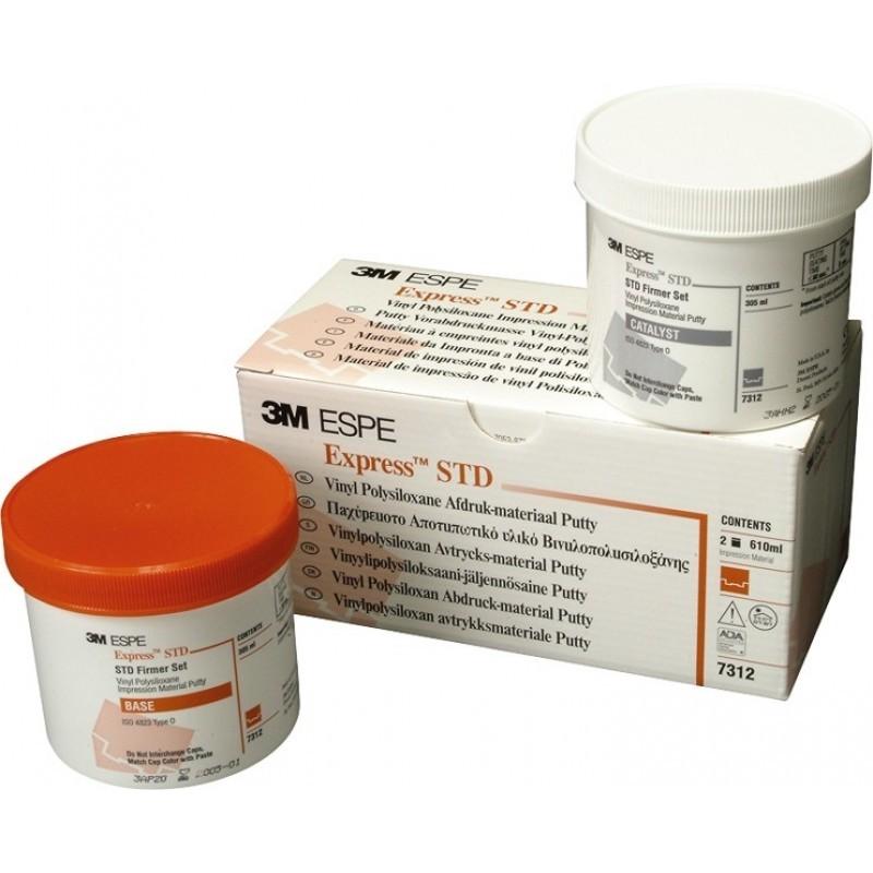 Материал стоматологический винилполисилоксановый оттискной ручного замешивания Express STD (2 шт. по 305 мл)