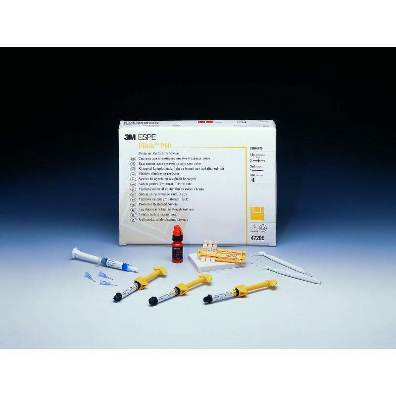 Материал стоматологический реставрационный для жевательных зубов Filtek P60 (дозатор, 4 г)