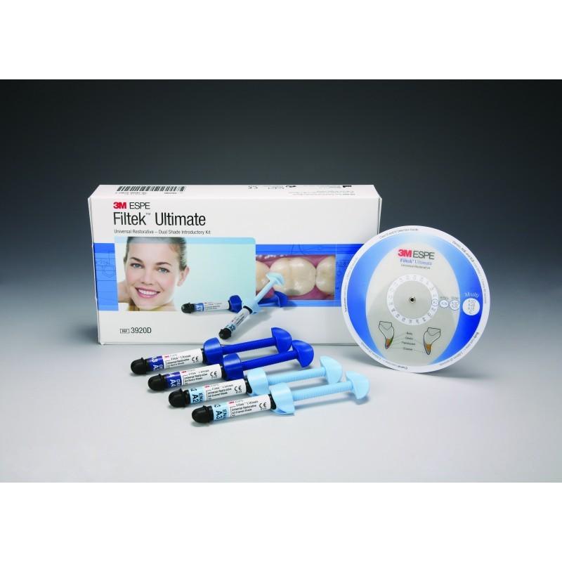 Материал стоматологический реставрационный универсальный Filtek Ultimate (ознакомительный набор Dual Shade)