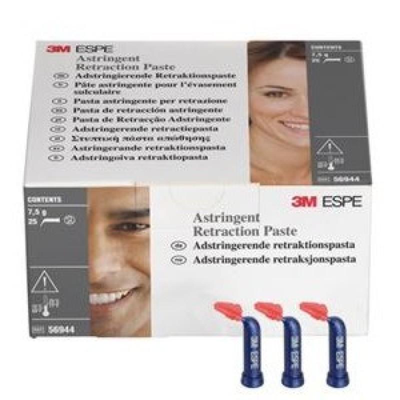 Паста ретракционная кровоостанавливающая 3М ESPE Astringent Retraction Paste (25 капсул)