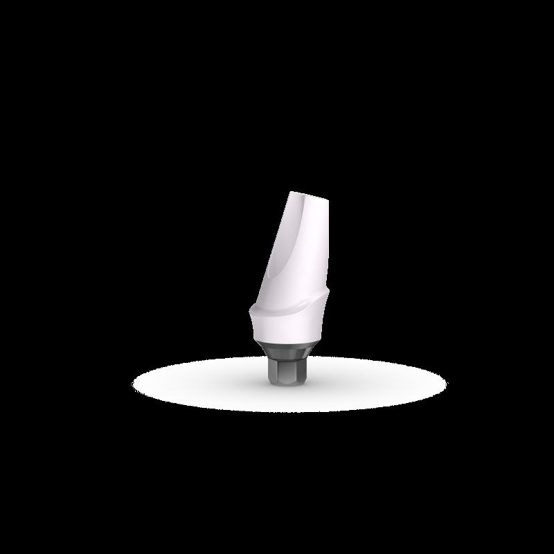 Абатмент угловой анатомический циркониевый P4SZ