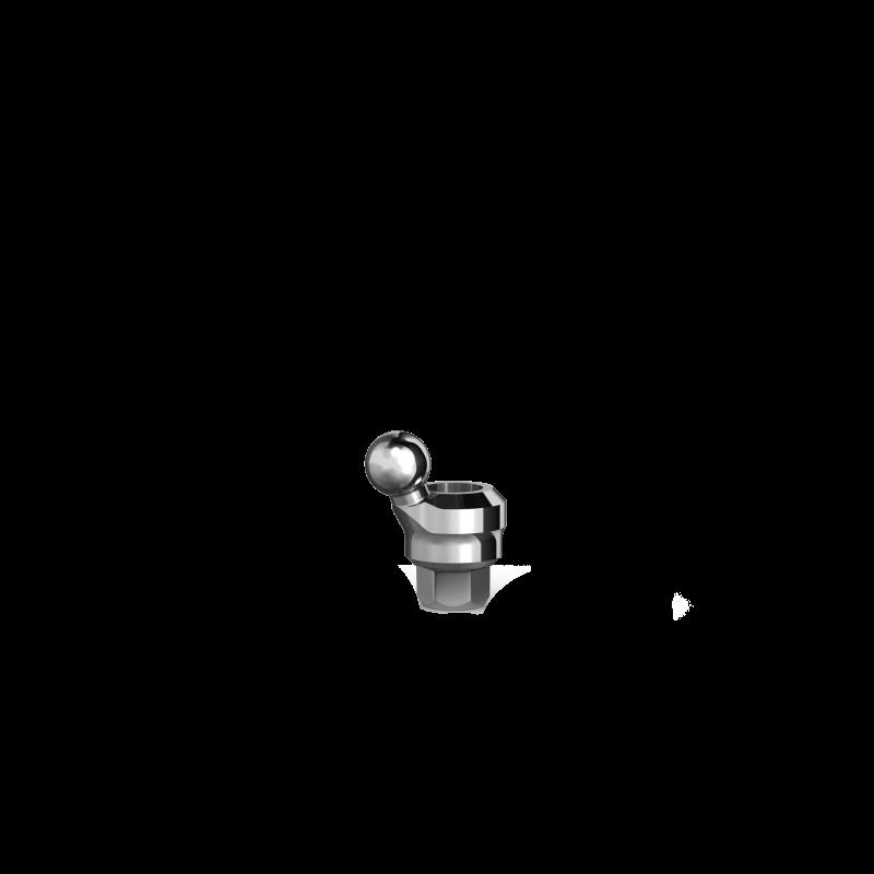 Аттачмент угловой шаровидный P5-20