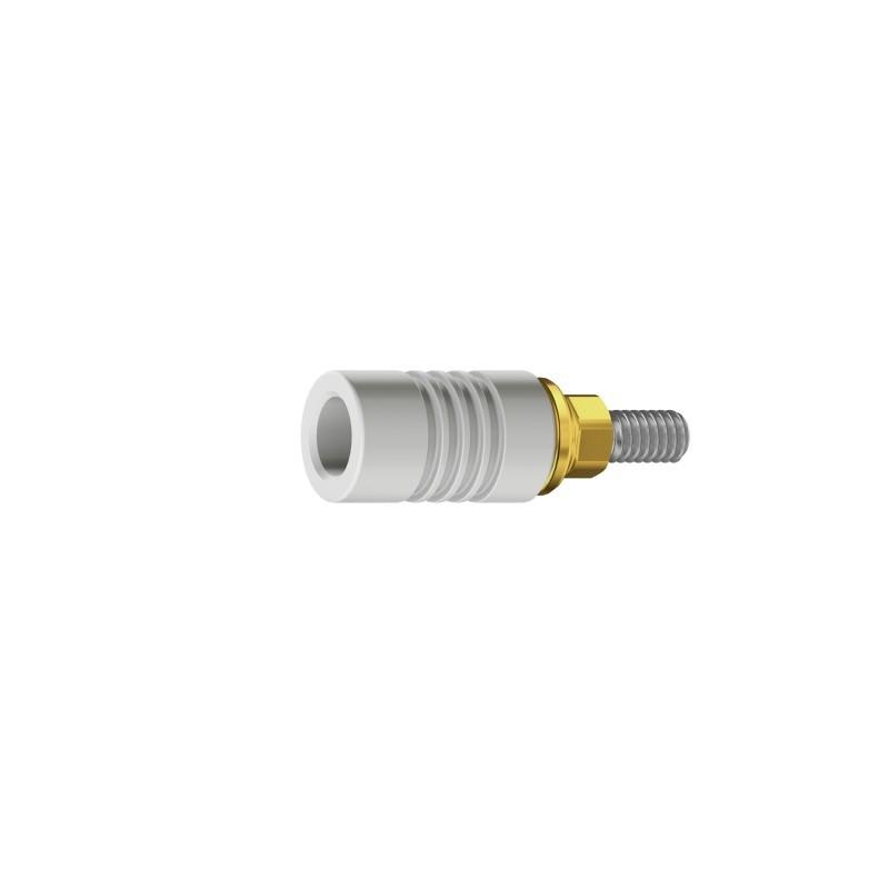 Абатмент золотой/пластиковый с шестигранником для Touareg-S, Touareg-OS, Swell