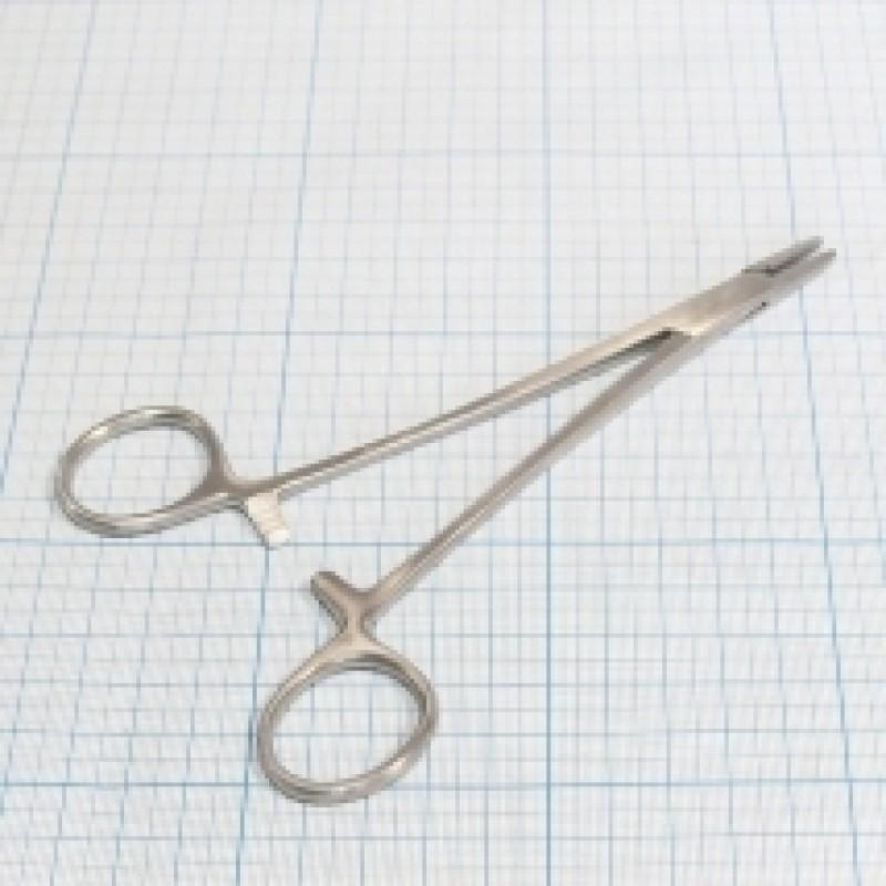 Иглодержатель общехирургический (16 см)