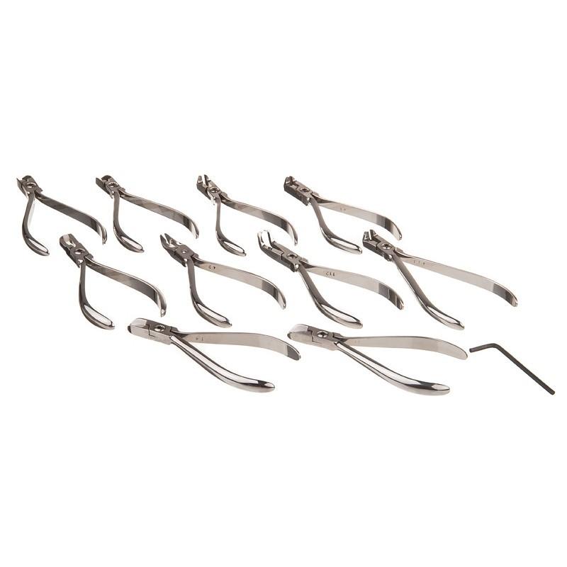 Щипцы ортодонтические (10 шт. в наборе)
