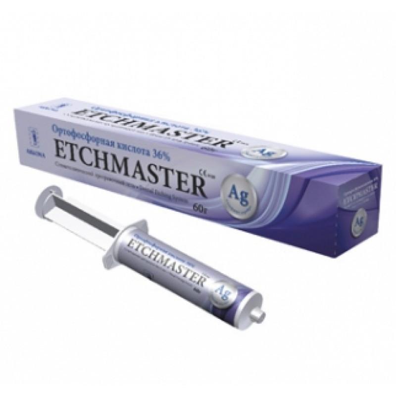 Протравочный гель с серебром Etchmaster 36% (шприц 6,5 г)