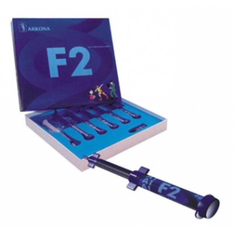 Светоотверждаемый молекулярный композит со фтором F2