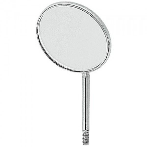 Зеркало без ручки, не увеличивающее, диаметр 26 мм ( №6 ), 1 штука