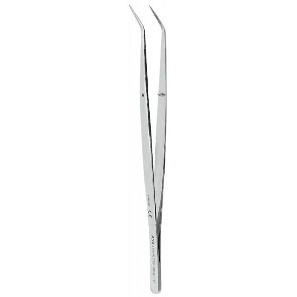 Пинцет анатомический изогнутый, 16 см 0600-17