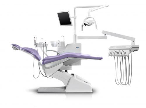 Стоматологическая установка U200, SIGER. Базовая компл. под вак. помпу