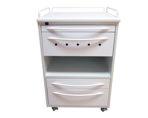 Модуль А-016Б с 3 ящиками и бактерицидной лампой Philips, белый